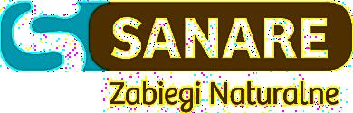 Logo gabinetu SANARE - Zabiegi naturalne